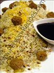 Shevid Loobia ( Loobia Polo Shirazi , Rice With Black Eyed Beans )