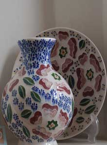 White pottery Zenouz