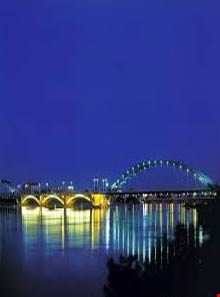 White bridge of Ahwaz