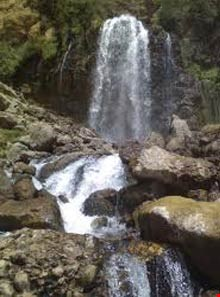 Chekan waterfall