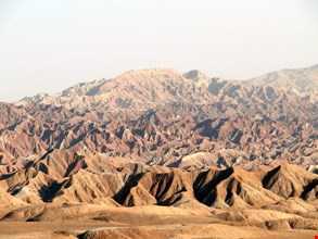 Miniature mountains of Nehbandan