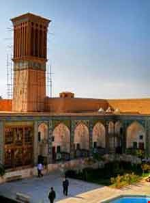 Ganjali Khan School and Caravanserai