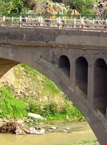 Historic bridge Of Firuz Abad