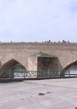 Aq Qala historical bridge