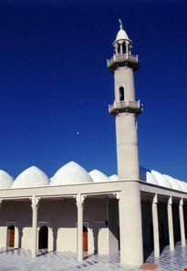 Qoba mosque of gheshm
