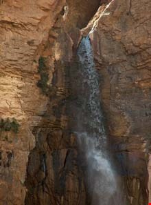 Khafar ( morvarid ) waterfall