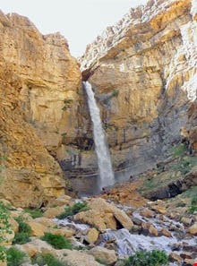 Khafar waterfall of samirom