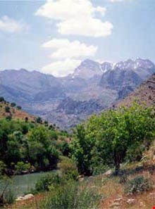 Dalan vanak mountains