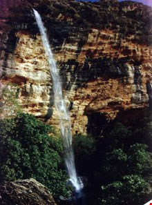 Baba monir Waterfall
