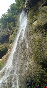 Takhtan waterfall