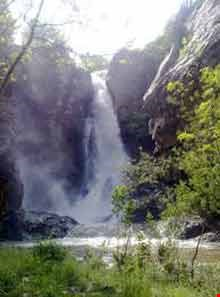 Shalmash waterfall